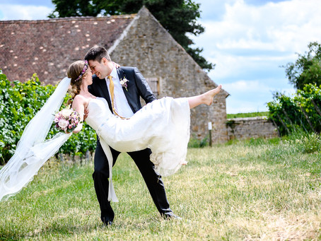 Janina und Andre feiern Hochzeit im Keller´s Keller Ruppertsberg