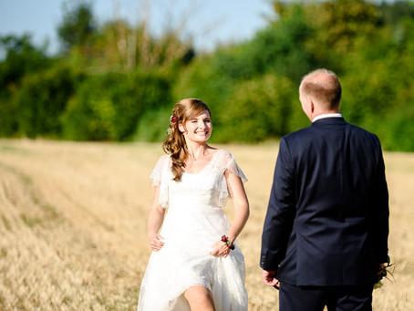 Franziska und Mathias feiern Hochzeit auf dem Romantikhof in Hangen-Weisheim
