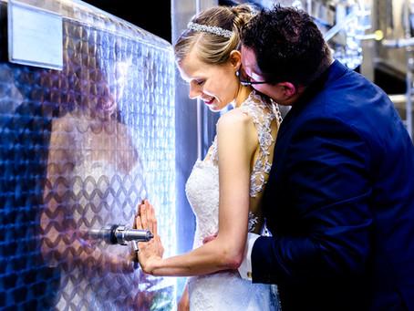 Marina und Daniel feiern Hochzeit in den Winzerstuben Weick in Kallstadt