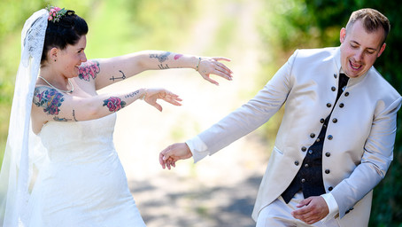 Ann-Kathrin und Mario feiern Hochzeit