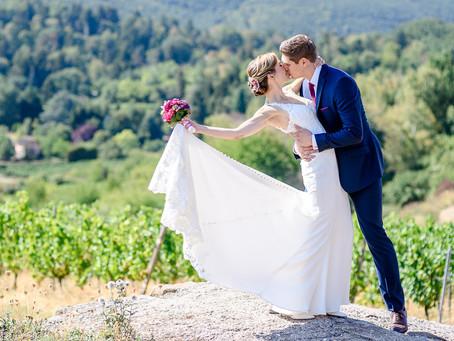 Kathrin und Henrik feiern Hochzeit auf dem Weingut Fitz Ritter Bad Dürkheim