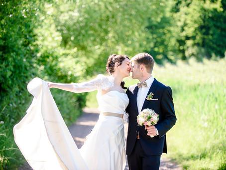 Sonja und Manfred feiern Hochzeit im Schlössl in Oberotterbach