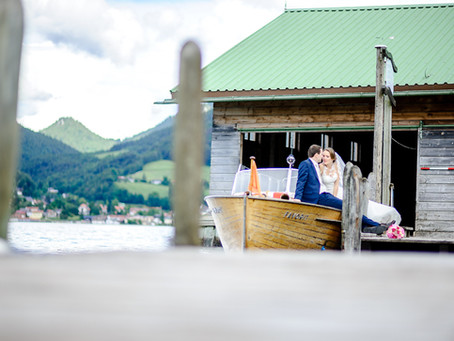 Melanie und Florian feiern Hochzeit im Hotel Wilhelmy Bad Wiessee am Tegernsee