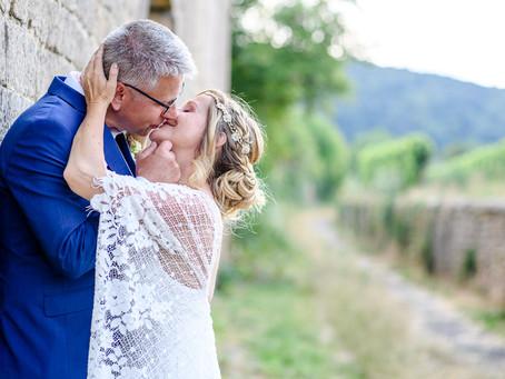 Christiane und Jens feiern Hochzeit in Deidesheim