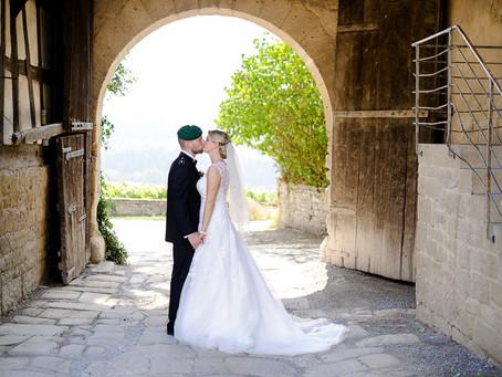 Janine und Ferdinand feiern Hochzeit auf Schloss Ravensburg bei Sulzfeld