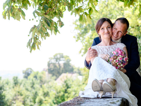 Nadja und Sven feiern Hochzeit auf dem Weingut Hubach in Erpolzheim