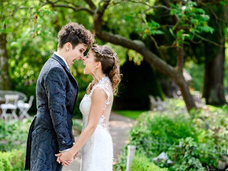Christina und Franziska feiern Hochzeit auf dem Weingut Fitz-Ritter