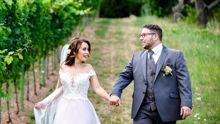 Julia und Nicola feiern Hochzeit im Haus am Weinberg in Sankt Martin