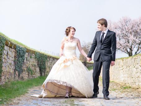 Sandra und Max - Hochzeit in Wachenheim