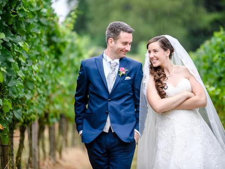 Melanie und Christian feiern Hochzeit auf dem Hofgut Petersau in Frankenthal