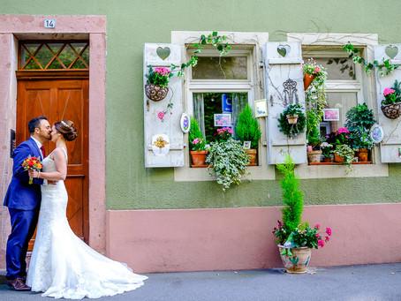 Lena und Oliver feiern Hochzeit auf der Wachenburg Weinheim