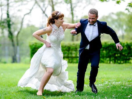 Juliane und Mario feiern Hochzeit auf dem Weingut Marienhof Flemlingen