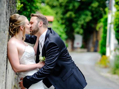 Christina und Christoph feiern Hochzeit auf dem Weingut Schloss Janson Bockenheim