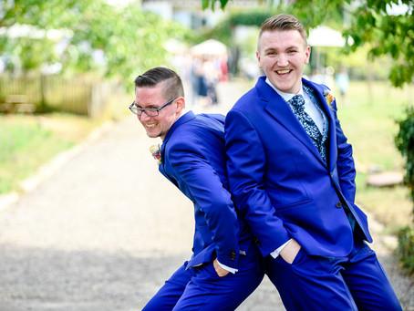 Felix und Daniel feiern Hochzeit auf dem Weingut Bürklin-Wolf