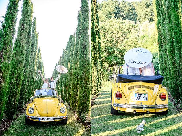 Stephanie Und Jens Feiern Hochzeit Im Weingut Mussler In Bissersheim