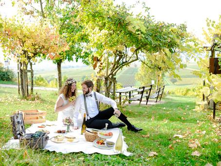 Annette und Michael -Hochzeit auf der Kleinen Kalmit