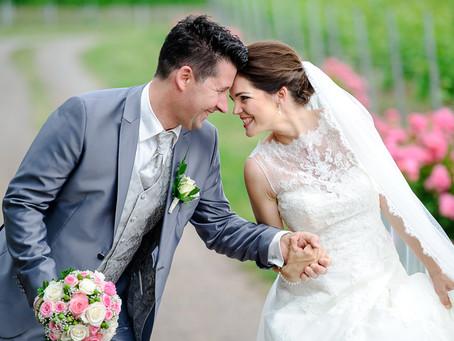 Sina und Joachim feiern Hochzeit im Weingut Fitz-Ritter in Bad Dürkheim