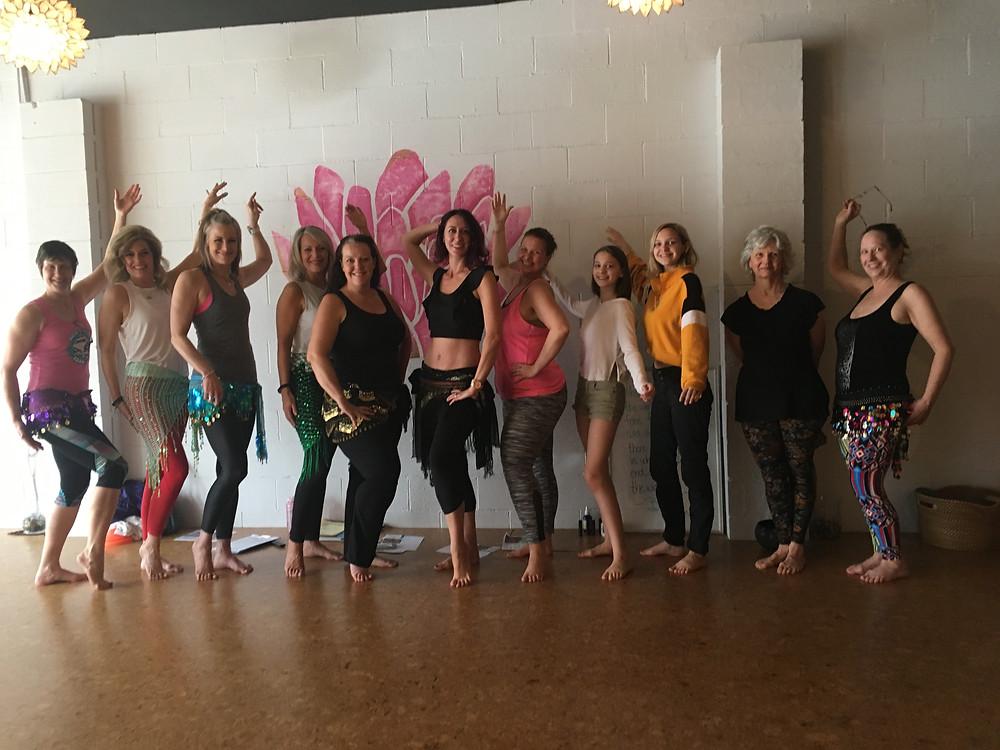 Battle Ground Belly Dance Class