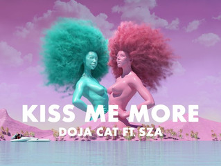 "Doja Cat Joins Forces With SZA for ""Kiss Me More"""