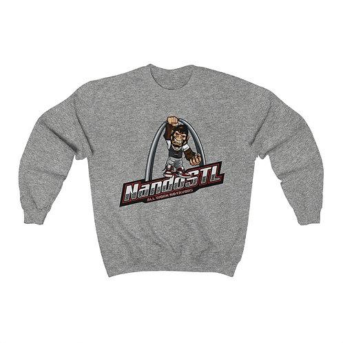 """NandoSTL """"Red Cement"""" Sweatshirt"""