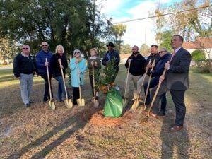 Second Brunswick Community Orchard Unveiled