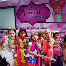 Princess and Tiaras, Girls Spa Parties Houston, Girls Spa Party Katy, Mobile Spa