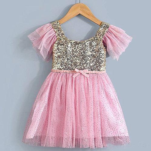 Sequin Pink Dress