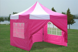 10x10 Pink Tent
