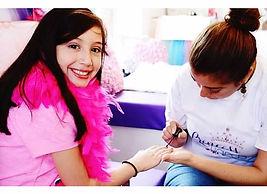 Princess and Tiaras, Girls Spa Parties Houston, Girls Spa Party Katy, Mobile Spa