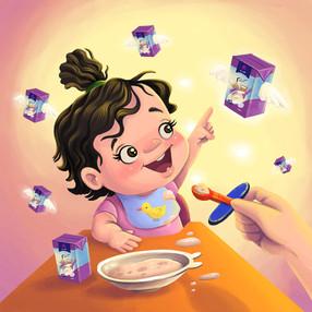 """Majan"" baby's food"