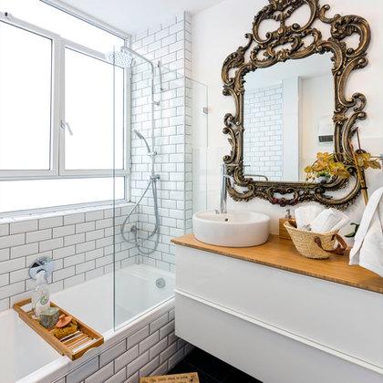 דירת המעצבת חדר אמבטיה