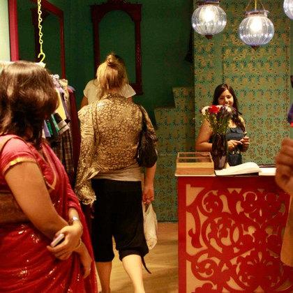 בוטיק בגדים בניו דלהי,הודו