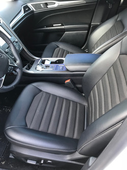 Ford Fusion Front Interior