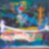 Invictus#1,mixed media on canvas,150x150