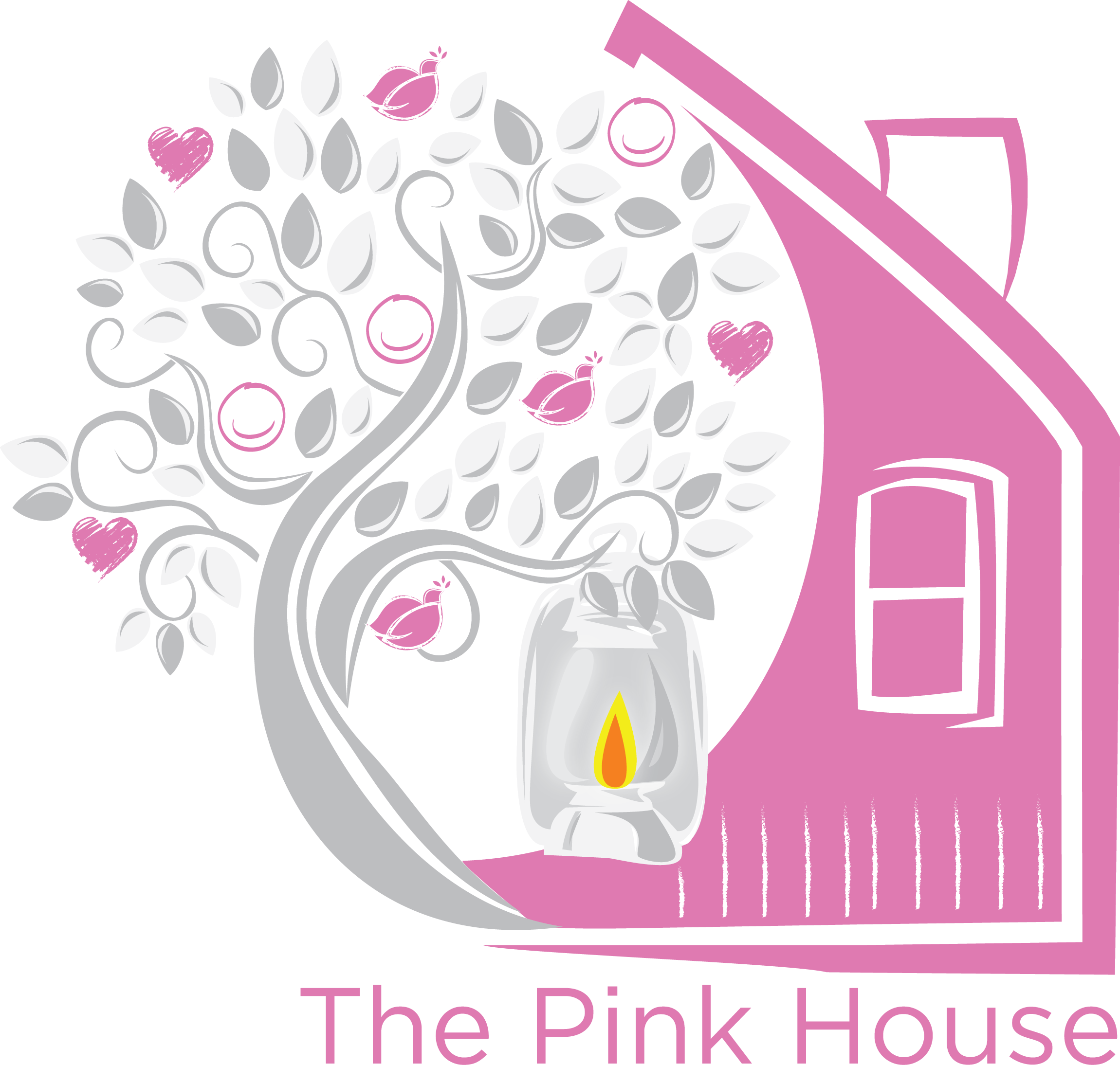 the pink house _Design_10843118