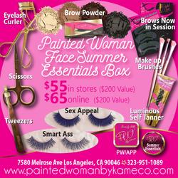 Face summer essentials
