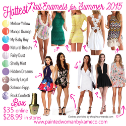 Hottest Nail Enamels with Price Updated