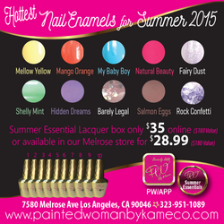 Hottest Nail Enamels ONLY