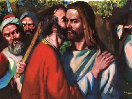 Betrayest thou the Son of Man with a kiss?