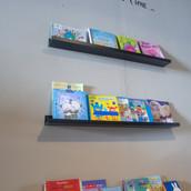 Bookshelf in the Lobby