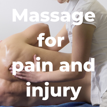 Massage for pain and injury at Heaven on Earth Wellness Therapies in Paignton