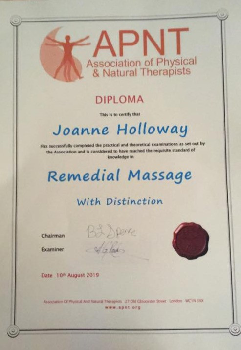Remedial Massage Therapist at Heaven on Earth Wellness Therapies, Paignton