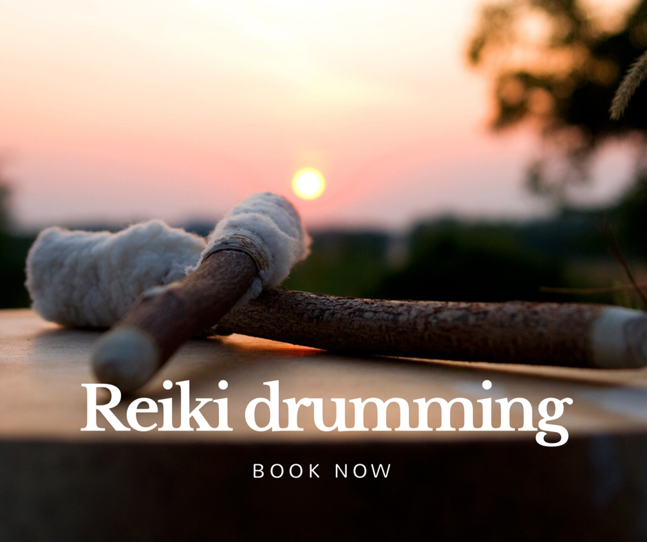 You can now book Reiki Drumming at Heaven on Earth Wellness Therapies, Paignton