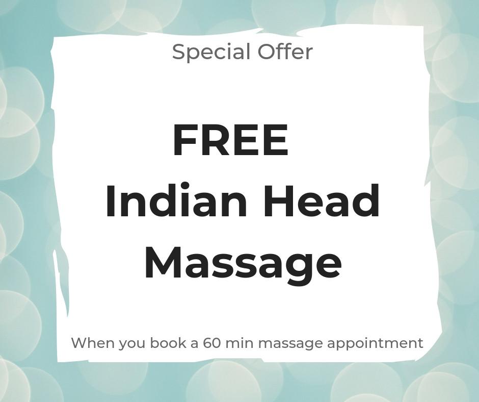 Indian Head Massage Special Offer Torbay Paignton Torquay Brixham area