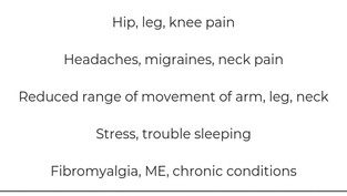 Did you know massage could help with pain?
