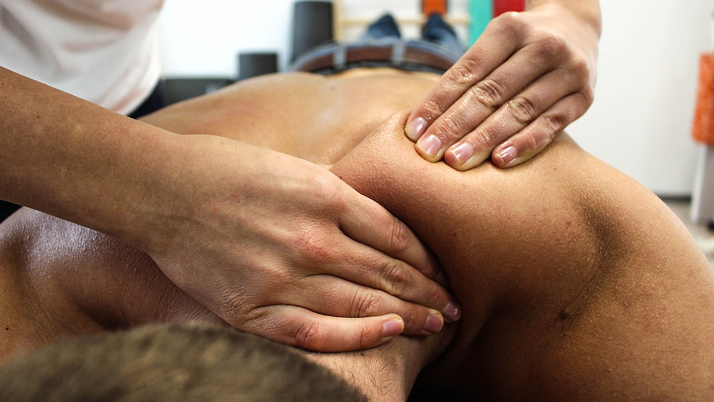 What is included in a full body massage?