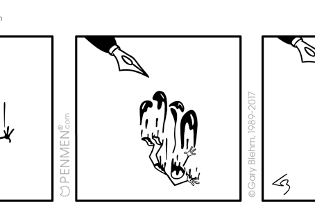 PENMEN® Inked Comics