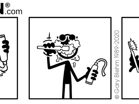 PENMEN Wordless Comic Strip