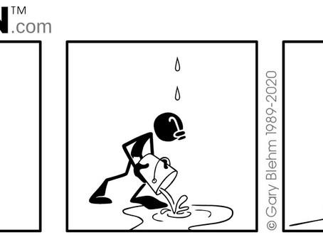 PENMEN® Wordless Comic Strip