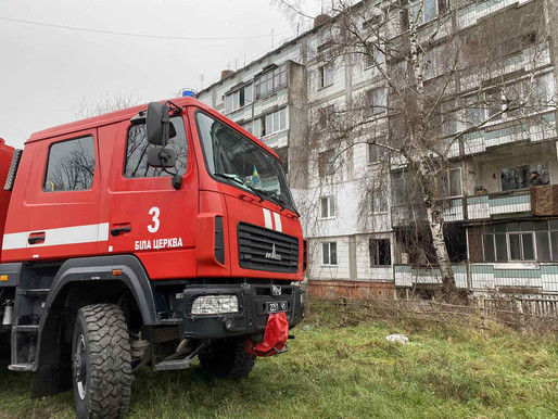 Пожежа по вул. Коновальця (евакуйовано 3-х мешканців)